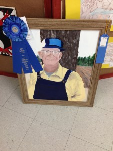 first place painting