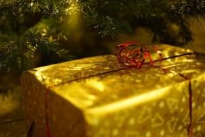 Present under tree