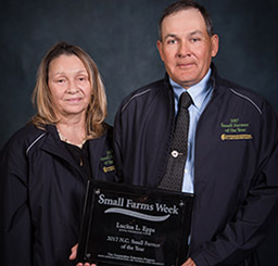 Lucius and Vera Epps 2017 N.C. Small Farmers of the Year