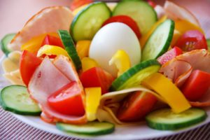 Picture of salad vegetables