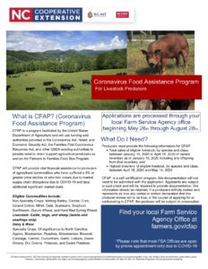 Cover photo for Program to Help Farmers and Livestock Producers