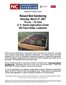 Cover photo for Raised Bed Gardening