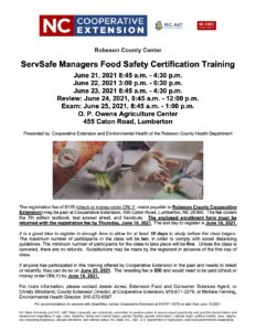 Cover photo for ServSafe Managers Food Safety