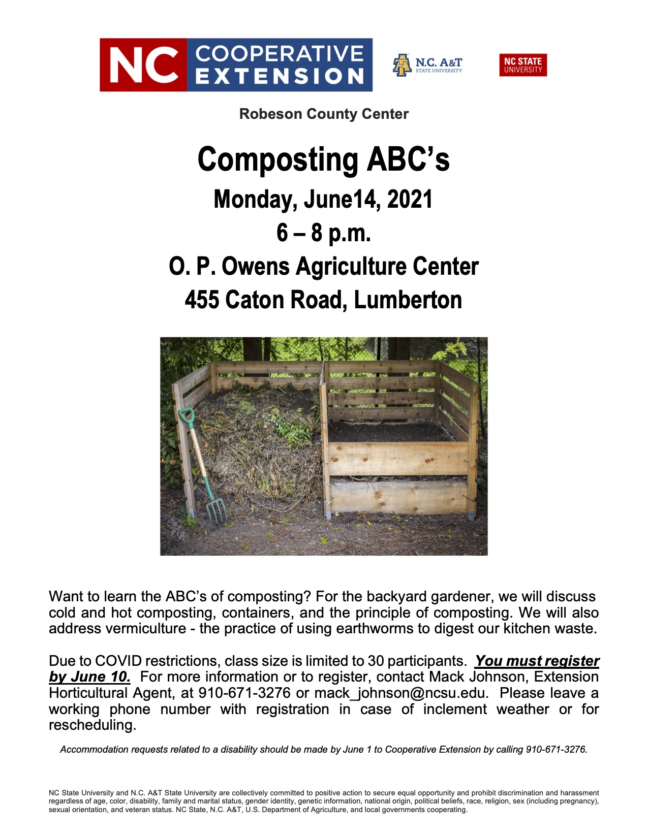 Flyer for composing