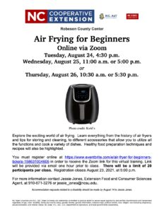information about air fryers