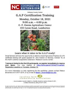 Cover photo for G.A.P Certification Training