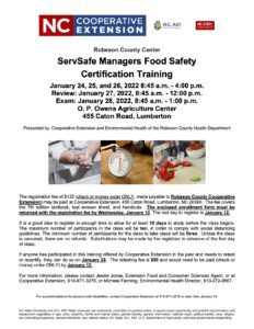 Cover photo for ServSafe Managers Food Safety Certification Training